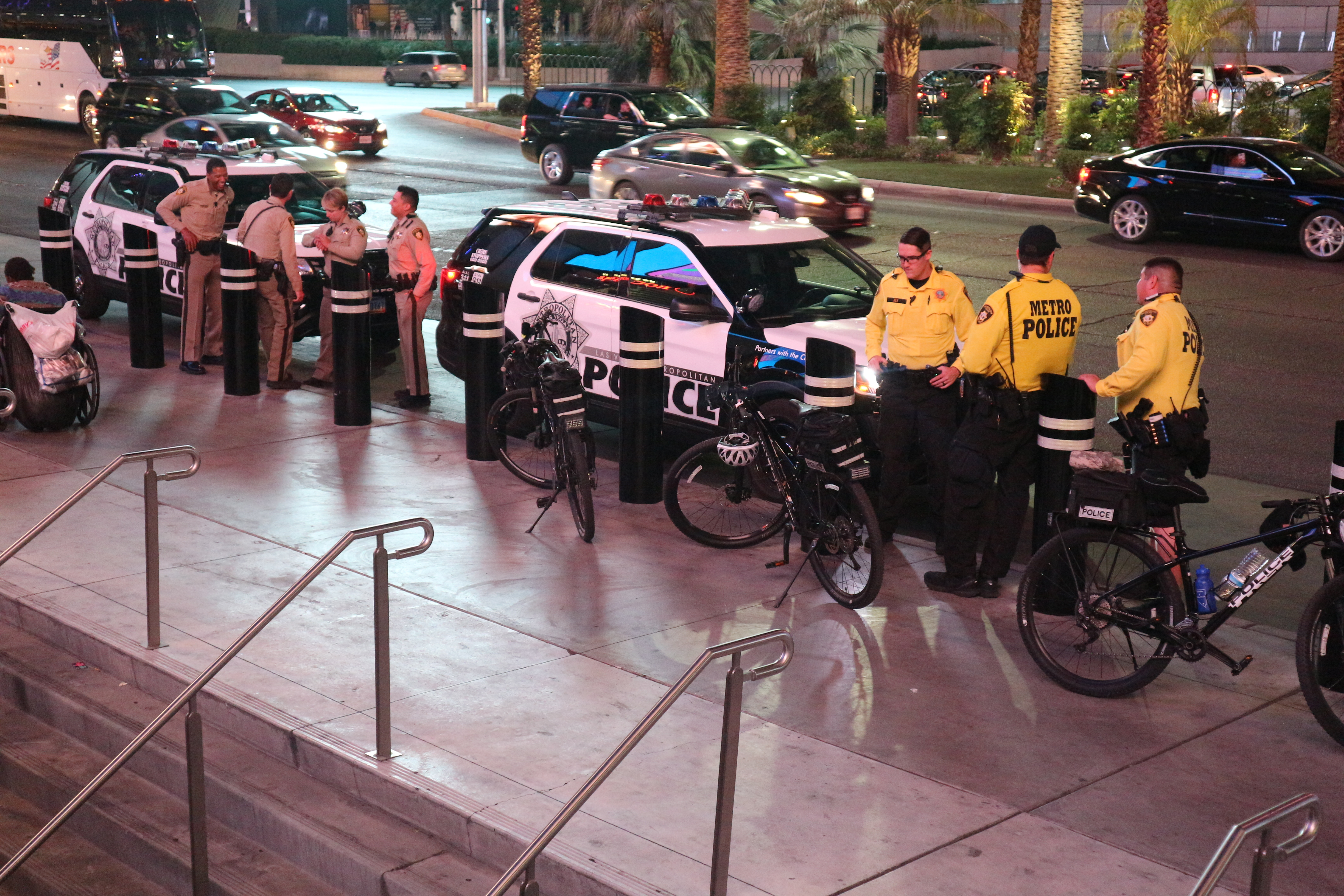 LVMPD on The Strip June 2019