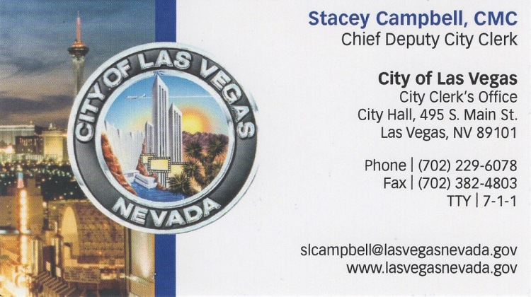 Stacey Campbell - Chief Deputy City Clerk